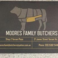 MooresFamily Butcher