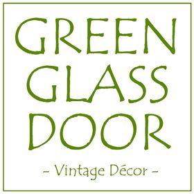 Green Glass Door