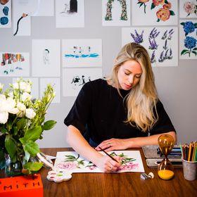 Jo Laing | Illustration | Luxury Stationery | Nursery Art