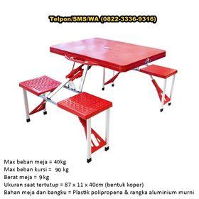 Meja lipat untuk promosi di Tangerang