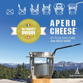 Apéro Cheese by 123 Concept - La raclette nomade