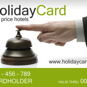HolidayCard - ½ price hotels