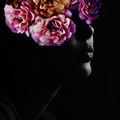 Lt Rose-All Over Sequin tissu pour la couture tombant /& Set Design matériel