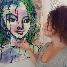 I Am What I Art by Fadwa Al Qasem