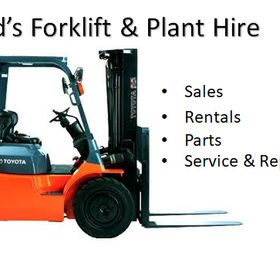 Fred's Forklift & Plant Hire