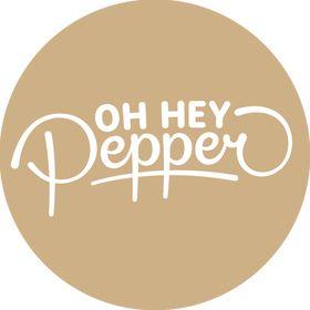 Oh Hey Pepper | Original Prints & Ethically made homewares