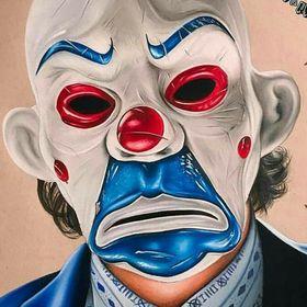 """Slipknot Clown Masque Shawn/"""" 6/"""" Crahan Blanc Mohawk Tour adulte Costume Accessoire"""