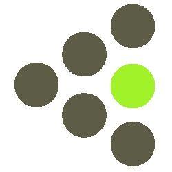 Zielona wśród ludzi
