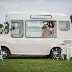 Sweet Ally Scoops Vintage Ice Cream Van