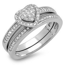 Heart Shaped Diamond Engagement Rings