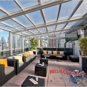 Roll-A-Cover Retractable Enclosures & Roofs