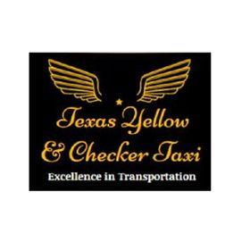 Texas Yellow & Checker Taxi