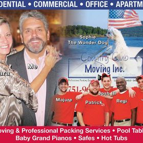 Country Club Moving Inc