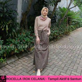 Rok Celana Muslimah Rocella