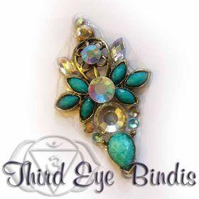 Third EYE Bindis - Tribal Bindis by Lilith