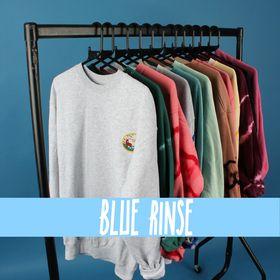 blue rinse vintage