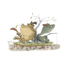 Terrapin & Toad | Whimsical Art