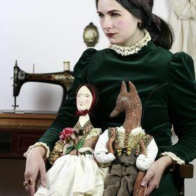 Pantovola  🌿 textile art 🌿 art dolls 🌿 tales