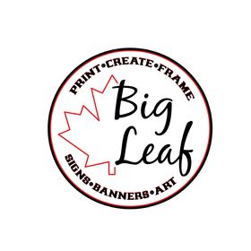 Big Leaf Art Prints