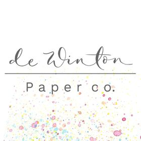 de Winton Paper co - hand painted watercolour wedding stationery