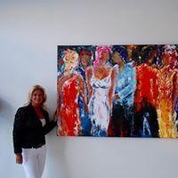 Artist Carla Ullersma