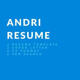 Andri Resume