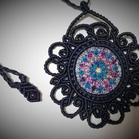 '' ComP '' handmade macrame creations