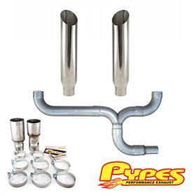 DNA motoring HDS-CB05-20L+DP Stainless Steel Exhaust Header Manifold