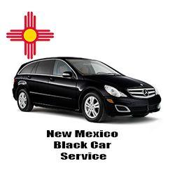 New Mexico Black Car
