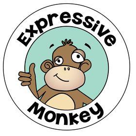 Expressive Monkey • The Art Teacher's Little Helper