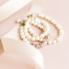 Little Girl's Pearls | pearl jewelry gifts for baby, newborn, infant, and as she grows