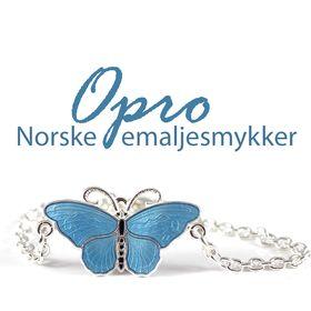 Opro - norske emaljesmykker