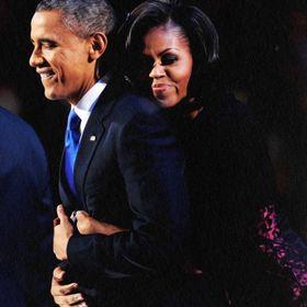 Barack Loves Michelle