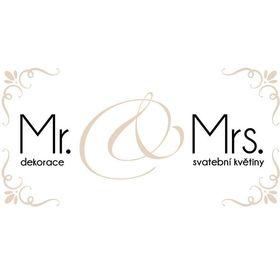 Mr.& Mrs. svatební květiny - dekorace
