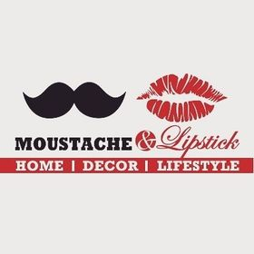 Moustache And Lipstick