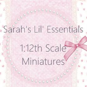 SarahsLilEssentials on Etsy