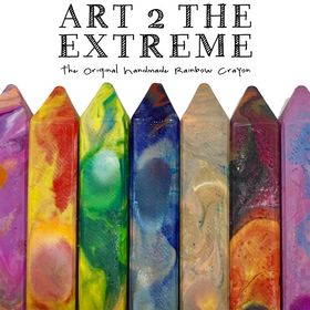 The Original Rainbow Crayon by Art 2 the Extreme