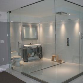 Elegant Shower and Glass