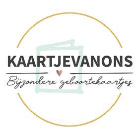KaartjeVanOns.nl   Voor écht bijzondere geboortekaartjes