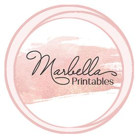Marbella Printables & Bella & Mar Fine Stationery: Etsy Shop