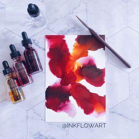 Susan Verekar - Ink Flow Art