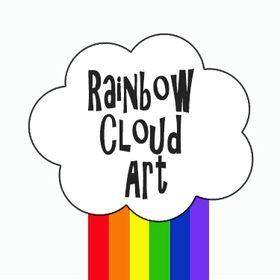 Rainbow Cloud Art | Art Education