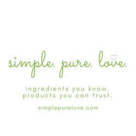 simple. pure. love.