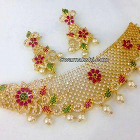 bfa2aa0d0a45a Swarnakshi 1 gram gold jewellery (swarnakshij) on Pinterest
