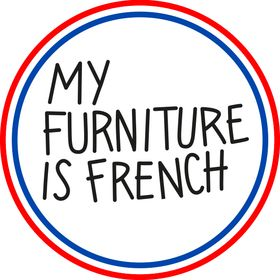 My furniture is french
