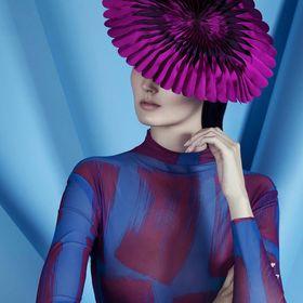 Showbiz Glamour Style Violet Top Hat Homme Femme Unisexe accessoire robe fantaisie