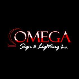 omega sign lighting yesco chicago