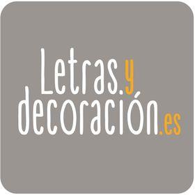 Letras y decoración