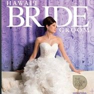 Hawaii Bride and Groom Wedding Style