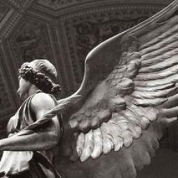 m, the angel